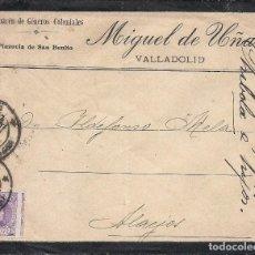 Sellos: ESPAÑA.CARTA CIRCULACIÓN.AÑO 1925.SELLO VARIEDAD / ERROR. . Lote 125342199