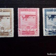 Sellos: ESPAÑA CORREO AÉREO 1929 EXPOSICIÓN DE SEVILLA Y BARCELONA AVION SPIRIT OF SAINT LOUIS DE CHARLES A. Lote 127591811