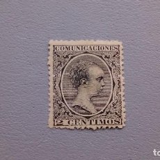 Sellos: ESPAÑA - 1889-1901- EDIFIL 214 - MH* - NUEVO - MUY BIEN CENTRADO - LUJO - VALOR CATALOGO 84€.. Lote 128894511