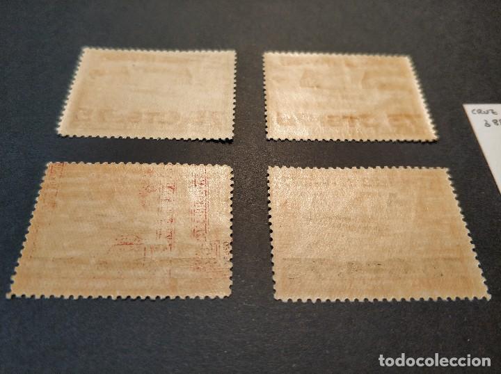 Sellos: Serie de Cruz Roja Alfonso XIII - Año 1927 - Edifil 388-391 - Nuevo Sin Charnela - Lujo - Foto 3 - 130319902
