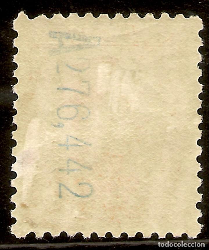 Sellos: ESPAÑA Edifil 498* Mh 50 Céntimos naranja Vaquer 1930/31 NL1151 - Foto 2 - 130897492