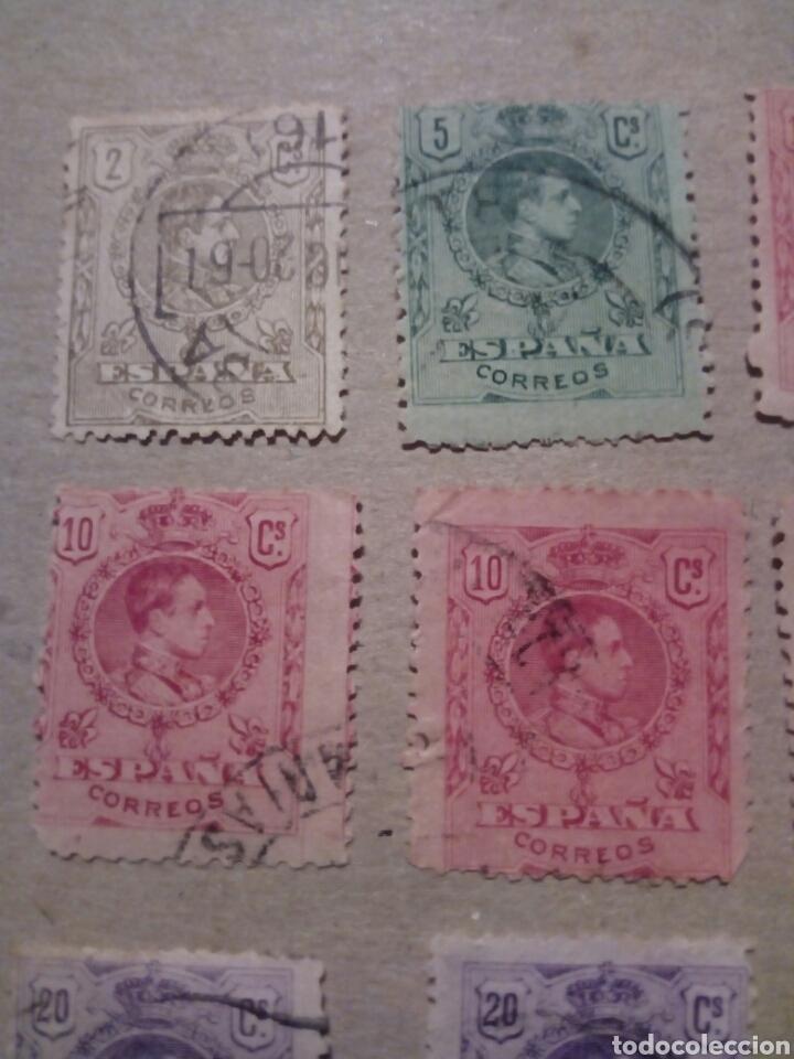 Sellos: ESPAÑA ALFONSO XIII 1909 1920 - Foto 2 - 131015519