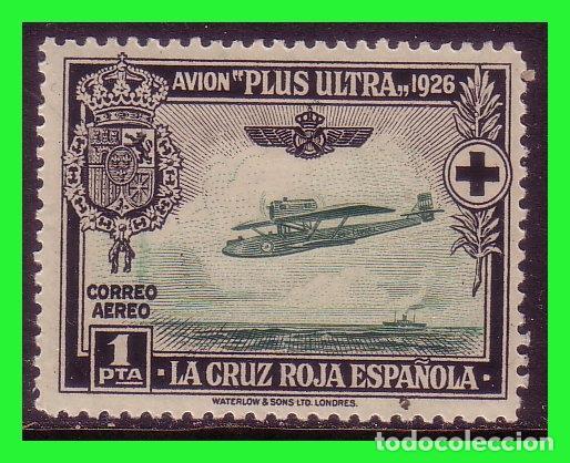 1927 PRO CRUZ ROJA, AÉREOS, EDIFIL Nº 347 * * (Sellos - España - Alfonso XIII de 1.886 a 1.931 - Nuevos)
