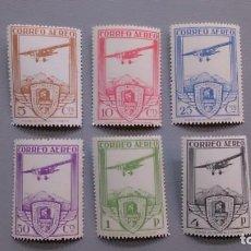 Sellos: ESPAÑA - 1930 - ALFONSO XIII - EDIFIL 483/488 - R - SERIE COMPLETA - MNH** - NUEVOS.. Lote 136844252