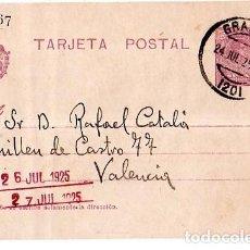 Sellos: TARJETA POSTAL ALFONSO XIII.. Lote 134755966