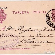 Sellos: TARJETA POSTAL ALFONSO XIII.. Lote 134756698