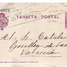 Sellos: TARJETA POSTAL ALFONSO XIII.. Lote 134756982