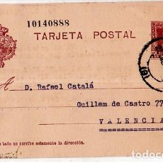 Sellos: TARJETA POSTAL ALFONSO XIII.. Lote 134757202