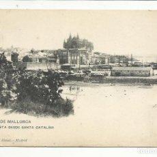 Sellos: POSTAL CIRCULADA 1904 DE PALMA DE MALLORCA A NEVILLY FRANCIA VER FOTO . Lote 136185390