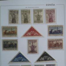 Sellos: ESPAÑA EDIFIL 531/546* NUEVOS LUJO CON FIJASELLOS SERIE COMPLETA DESCUBRIMIENTO DE AMÉRICA 1930. Lote 136856478