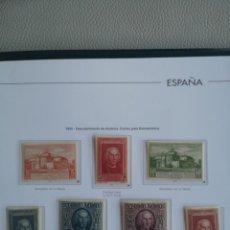 Sellos: ESPAÑA EDIFIL 559/65* NUEVOS CON FIJASELLOS SERIE COMPLETA DESCUBRIMIENTO DE AMÉRICA 1930 . Lote 136858858