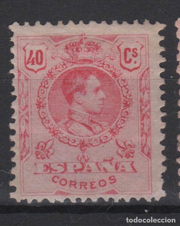 1909 - 1922 ALFONSO XIII TIPO MEDALLÓN EDIFIL 276* VC 24,50€ (Sellos - España - Alfonso XIII de 1.886 a 1.931 - Nuevos)