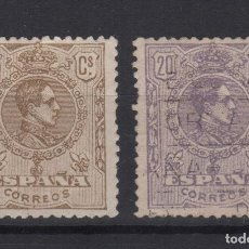 Sellos: 1929 ALFONSO XIII TIPO MEDALLÓN 289/90 VC 12,00€. Lote 138729326