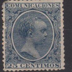 Sellos: 1889 - 1899 ALFONSO XIII TIPO PELON EDIFIL 213* VC 12,50€ . Lote 138920494