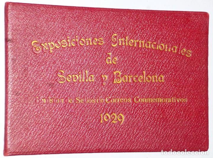EXPOSICIONES INTERNACIONALES DE SEVILLA Y BARCELONA. EMISIÓN DE SELLOS CONMEMORATIVOS 1929 (Sellos - España - Alfonso XIII de 1.886 a 1.931 - Nuevos)