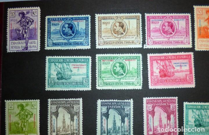 Sellos: EXPOSICIONES INTERNACIONALES DE SEVILLA Y BARCELONA. EMISIÓN DE SELLOS CONMEMORATIVOS 1929 - Foto 5 - 139132650