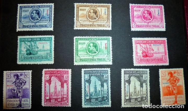 Sellos: EXPOSICIONES INTERNACIONALES DE SEVILLA Y BARCELONA. EMISIÓN DE SELLOS CONMEMORATIVOS 1929 - Foto 7 - 139132650