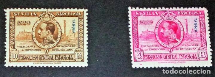 Sellos: EXPOSICIONES INTERNACIONALES DE SEVILLA Y BARCELONA. EMISIÓN DE SELLOS CONMEMORATIVOS 1929 - Foto 19 - 139132650