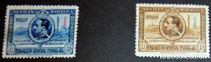 Sellos: EXPOSICIONES INTERNACIONALES DE SEVILLA Y BARCELONA. EMISIÓN DE SELLOS CONMEMORATIVOS 1929 - Foto 23 - 139132650