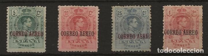 R60/ ESPAÑA 1920, EDIFIL 292/4 * - 296 *, CATALOGO 70,75€, ALFONSO XIII ... (Sellos - España - Alfonso XIII de 1.886 a 1.931 - Nuevos)