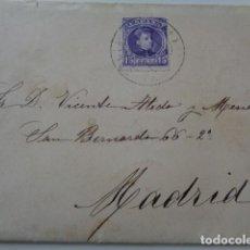 Sellos: CARTA A MADRID, 1907. SELLO 15 CENTIMOS. . Lote 139462158