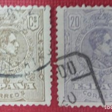 Sellos: ALFONSO XIII, 1920. 2 VALORES (Nº 289 Y 290 EDIFIL).. Lote 140011086