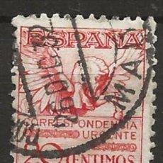 Sellos: R60.G14/ ESPAÑA 1929, EDIFIL 454 USADO, PEGASO. Lote 140031846