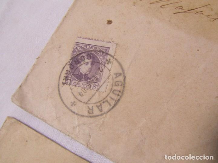 Sellos: 2 sobres primera década siglo XX (una de ellas es de 1904) Provincia de Huelva - Foto 4 - 140181806