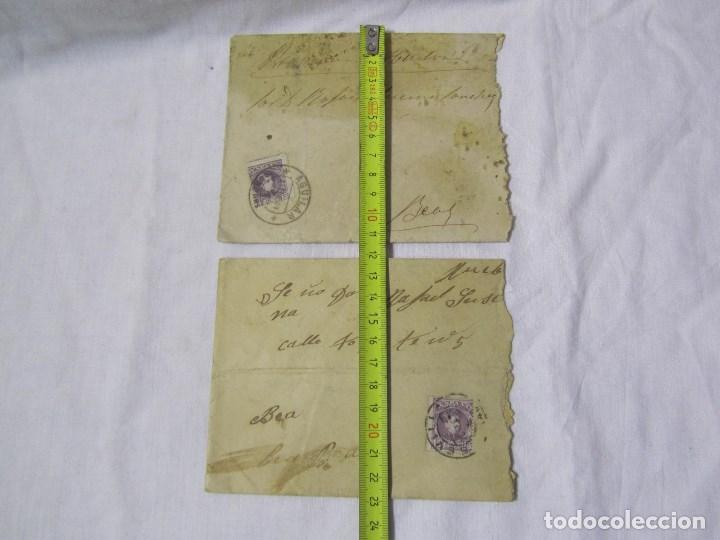 Sellos: 2 sobres primera década siglo XX (una de ellas es de 1904) Provincia de Huelva - Foto 7 - 140181806