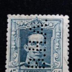 Sellos: SELLO ALFONSO XIII 15 CTS. AÑO 1922. USADO. Lote 140512782