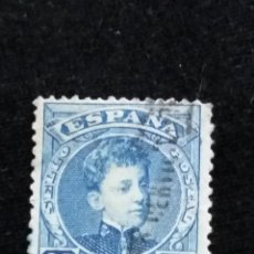 Sellos: SELLO ALFONSO XIII, 25 CTS AÑO 1901.- USADO. Lote 140517682