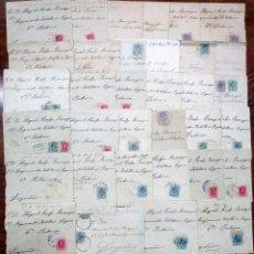 Sellos: HISTORIA POSTAL CONJUNTO DE 34 CARTAS CON SUS SOBRES DE CORREO, DECADA DE LOS AÑOS 20 FILATELIA-0034. Lote 140899726