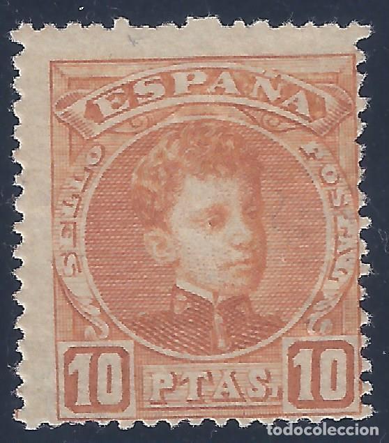 EDIFIL 255 ALFONSO XIII. TIPO CADETE. 1901-1905. VALOR CATÁLOGO: 395 €. MH *. LUJO. (Sellos - España - Alfonso XIII de 1.886 a 1.931 - Nuevos)