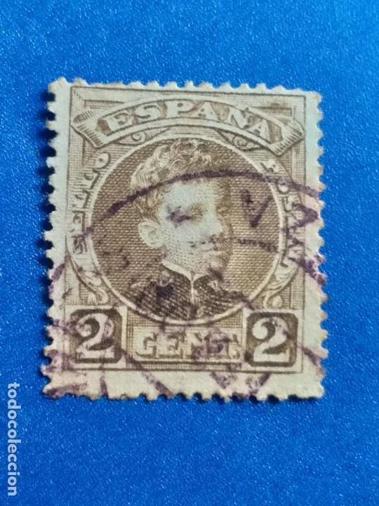 USADO. AÑO 1901. EDIFIL 241. ALFONSO XIII. TIPO CADETE. (Sellos - España - Alfonso XIII de 1.886 a 1.931 - Usados)