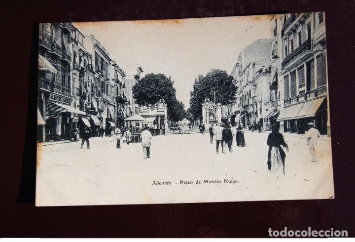 Sellos: ALICANTE - ARGEL año de 1906 - TARJETA POSTAL CIRCULADA EN VAPOR PAQUEBOT - BONITA PIEZA H. POSTAL - Foto 2 - 142954478