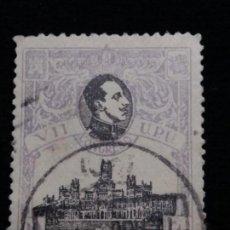 Sellos: SELLO CORREOS ALFONSO.XIII 2 CTS.1920. USADO. Lote 143102890