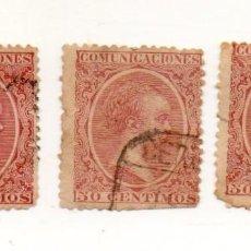 Sellos: ESPAÑA. ALFONSO XIII, 1889-99. EDIFIL 224 50 CTS. . Lote 143736958