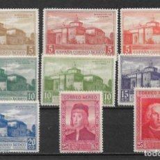 Sellos: ESPAÑA 1930 LOTE DESCUBIMIENTO DE AMERICA * - 20/6. Lote 143937418