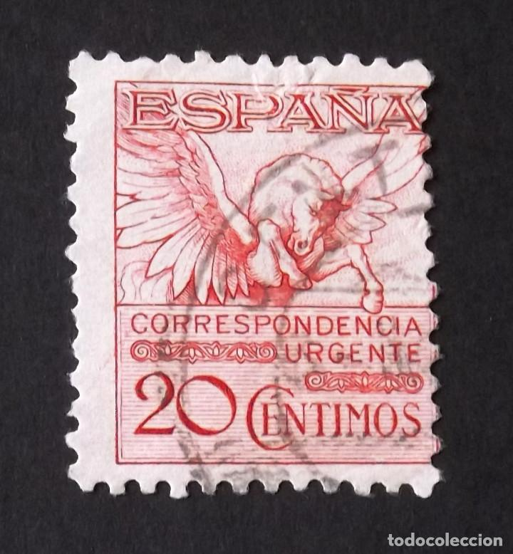 592A, USADO. URGENTE. PEGASO (1931). (Sellos - España - Alfonso XIII de 1.886 a 1.931 - Usados)