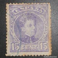 Sellos: SPAIN - REY ALFONSO XIII - 1901 - 15 C. Lote 145829878