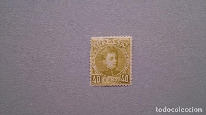 ESPAÑA - 1901-1905 - EDIFIL 250 - MNH** - NUEVO - PRUEBA N.CONTROL 000,000 - VALOR CATALOGO 360€. (Sellos - España - Alfonso XIII de 1.886 a 1.931 - Nuevos)