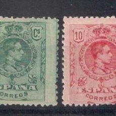 Sellos: ESPAÑA 1909 - 1922 EDIFIL 267/270 * MH - 8/39. Lote 146695882