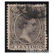 Sellos: ESPAÑA 1889-99. EDIFIL 214. ALFONSO XIII, TIPO PELÓN. USADO. Lote 147338938