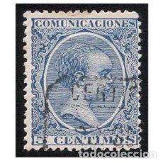Sellos: ESPAÑA 1889-99. EDIFIL 215. ALFONSO XIII, TIPO PELÓN. USADO. Lote 147339390