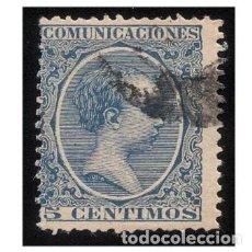 Sellos: ESPAÑA 1889-99. EDIFIL 215. ALFONSO XIII, TIPO PELÓN. USADO. Lote 147339646
