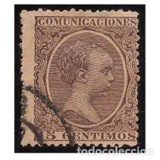 Sellos: ESPAÑA 1889-99. EDIFIL 219. ALFONSO XIII, TIPO PELÓN. USADO. Lote 147342098