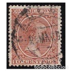 Sellos: ESPAÑA 1889-99. EDIFIL 218. ALFONSO XIII, TIPO PELÓN. USADO. Lote 147342830
