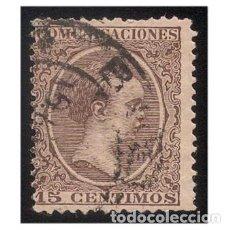 Sellos: ESPAÑA 1889-99. EDIFIL 219. ALFONSO XIII, TIPO PELÓN. USADO. Lote 147344486