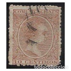 Sellos: ESPAÑA 1889-99. EDIFIL 219. ALFONSO XIII, TIPO PELÓN. USADO. Lote 147344634
