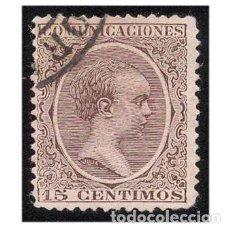 Sellos: ESPAÑA 1889-99. EDIFIL 219. ALFONSO XIII, TIPO PELÓN. USADO. Lote 147344954